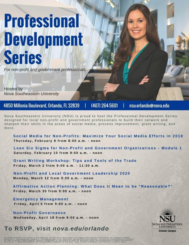 Professional Development Series